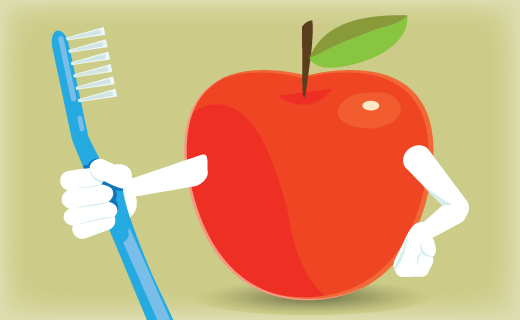 Foods That Help You Brush