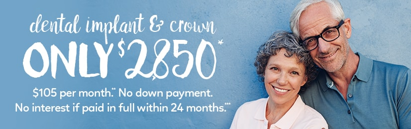 Dental Implants Special Offer $2850
